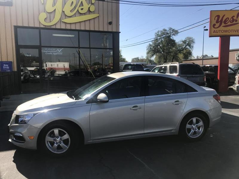 2015 Chevrolet Cruze for sale at Yes! Automotive in Fort Wayne IN
