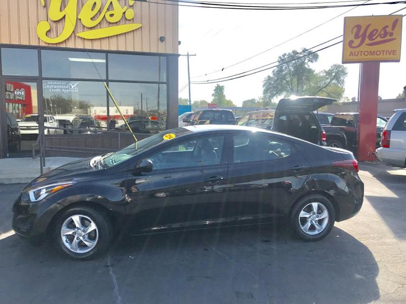 2014 Hyundai Elantra for sale at Yes! Automotive in Fort Wayne IN