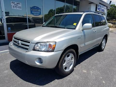 2005 Toyota Highlander for sale in Sarasota, FL
