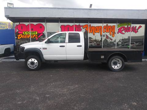 2008 Dodge Ram Chassis 5500 for sale in Sarasota, FL