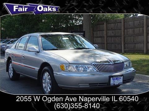 2002 Lincoln Continental for sale in Naperville, IL