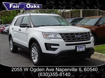 2017 Ford Explorer for sale in Naperville, IL