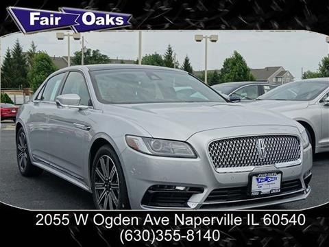 2017 Lincoln Continental for sale in Naperville, IL