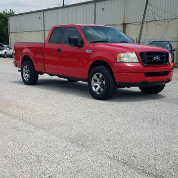 2004 Ford F-150 for sale at P & A AUTO SALES in Houston TX