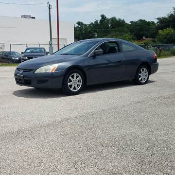 2004 Honda Accord for sale at P & A AUTO SALES in Houston TX