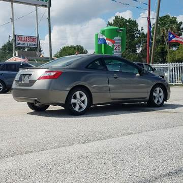 2007 Honda Civic for sale at P & A AUTO SALES in Houston TX