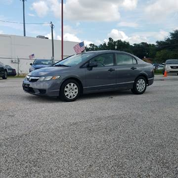2010 Honda Civic for sale at P & A AUTO SALES in Houston TX