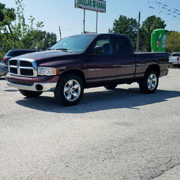 2005 Dodge Ram Pickup 1500 for sale at P & A AUTO SALES in Houston TX