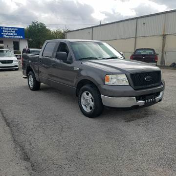 2005 Ford F-150 for sale at P & A AUTO SALES in Houston TX