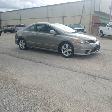 2006 Honda Civic for sale at P & A AUTO SALES in Houston TX