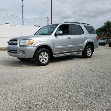 2007 Toyota Sequoia for sale at P & A AUTO SALES in Houston TX