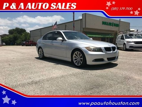 2008 BMW 3 Series for sale at P & A AUTO SALES in Houston TX