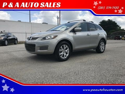 2009 Mazda CX-7 for sale at P & A AUTO SALES in Houston TX