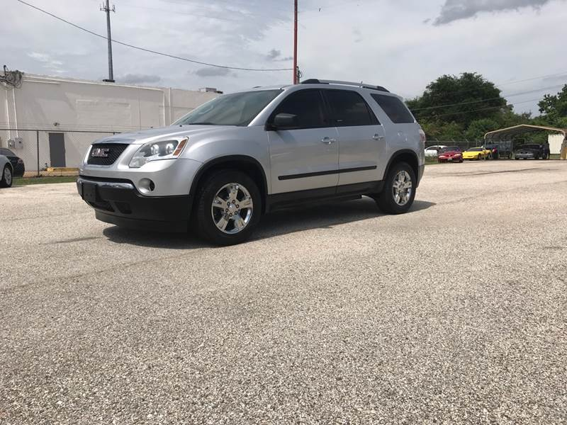 2011 GMC Acadia for sale at P & A AUTO SALES in Houston TX