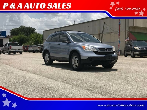 2008 Honda CR-V for sale at P & A AUTO SALES in Houston TX