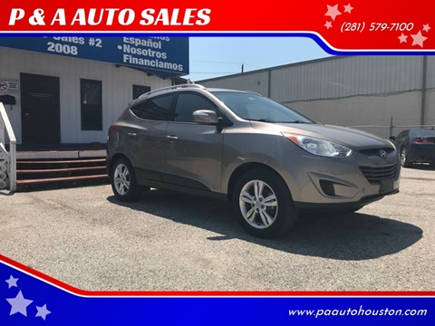 2012 Hyundai Tucson for sale at P & A AUTO SALES in Houston TX