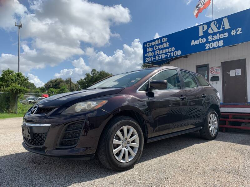 2011 Mazda CX-7 for sale at P & A AUTO SALES in Houston TX