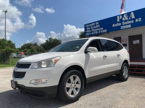 2011 Chevrolet Traverse for sale at P & A AUTO SALES in Houston TX