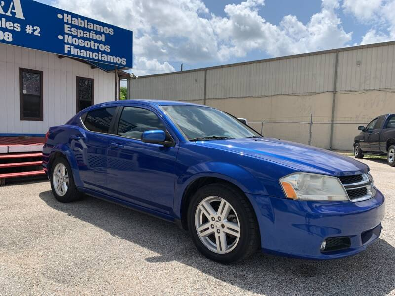 2014 Dodge Avenger for sale at P & A AUTO SALES in Houston TX