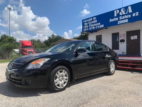 2009 Nissan Altima for sale at P & A AUTO SALES in Houston TX