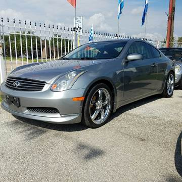 2004 Infiniti G35 for sale at P & A AUTO SALES in Houston TX