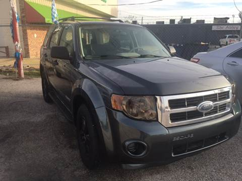 2008 Ford Escape for sale at P & A AUTO SALES in Houston TX