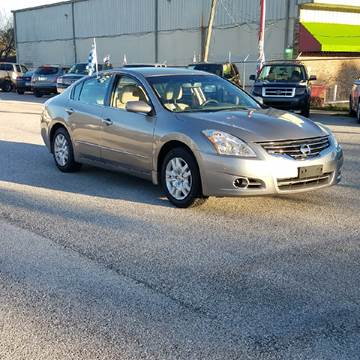 2012 Nissan Altima for sale at P & A AUTO SALES in Houston TX