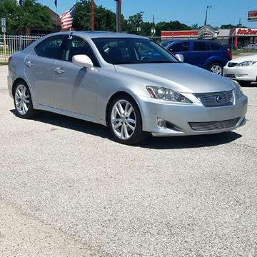 2007 Lexus IS 250 for sale at P & A AUTO SALES in Houston TX