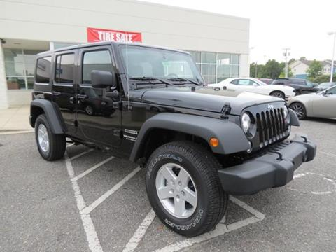 2017 Jeep Wrangler Unlimited for sale in Shelby, NC