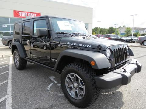 2017 Jeep Wrangler Unlimited for sale in Shelby NC