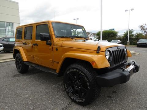 2014 Jeep Wrangler Unlimited for sale in Shelby NC