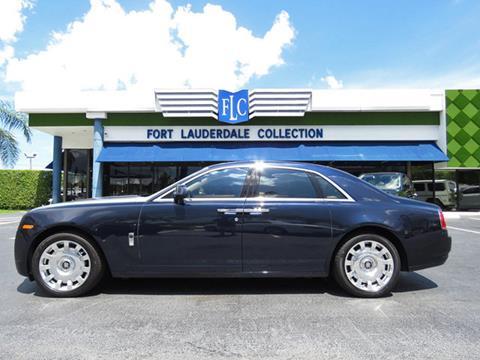 2013 Rolls-Royce Ghost for sale in Pompano Beach, FL