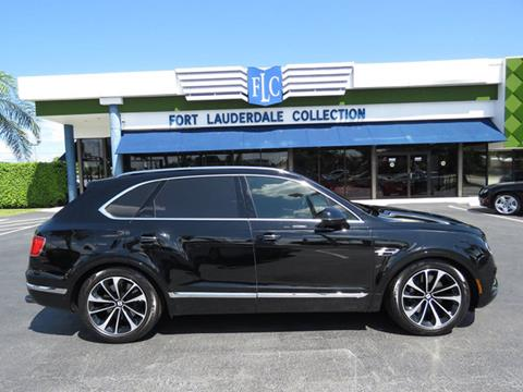 2017 Bentley Bentayga for sale in Pompano Beach, FL