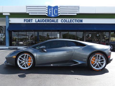 2015 Lamborghini Huracan for sale in Pompano Beach, FL