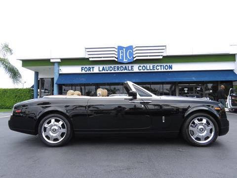 2008 Rolls-Royce Phantom Drophead Coupe for sale in Pompano Beach, FL