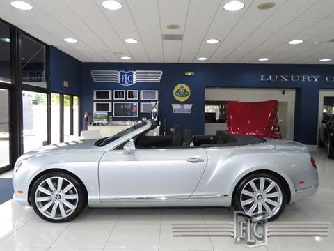2012 Bentley Continental GTC for sale in Pompano Beach, FL