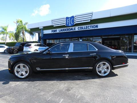 2012 Bentley Mulsanne for sale in Pompano Beach, FL