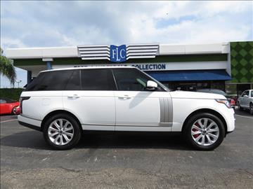 2013 Land Rover Range Rover for sale in Pompano Beach, FL