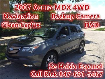 2007 Acura MDX for sale in Des Plaines, IL