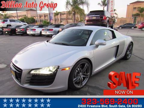 2011 Audi R8 for sale in South Gate, CA
