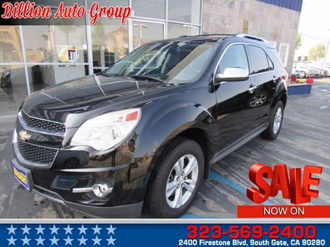 2013 Chevrolet Equinox for sale in South Gate, CA