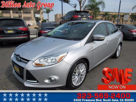 2012 Ford Focus for sale in South Gate, CA