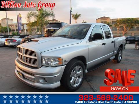 2004 Dodge Ram Pickup 1500 for sale in South Gate, CA
