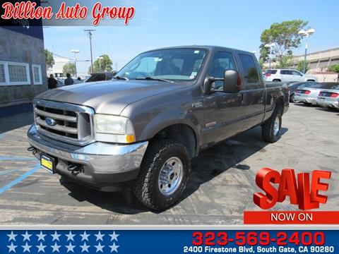 2004 Ford F-250 Super Duty for sale in South Gate, CA