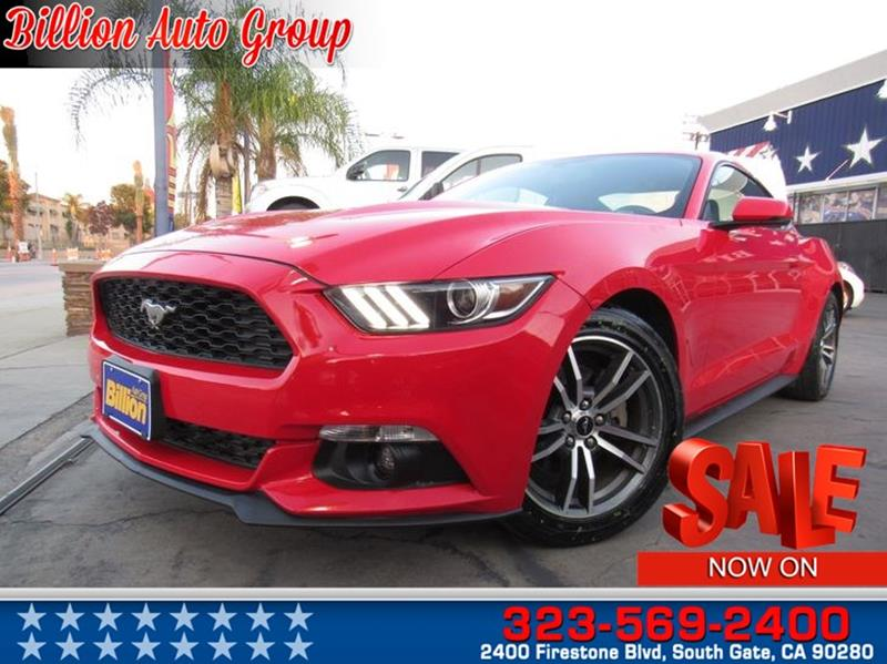 2015 Ford Mustang EcoBoost 2dr Fastback