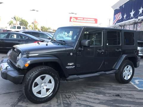 2010 Jeep Wrangler Unlimited for sale in South Gate, CA