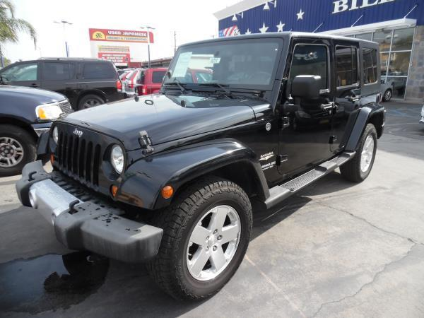 2008 Jeep Wrangler Unlimited For Sale At Billion Auto Group In South Gate CA