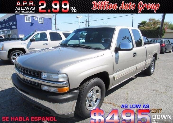 1999 Chevrolet Silverado 1500 For Sale At Billion Auto Group In South Gate  CA