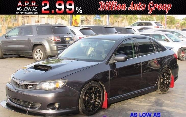 2010 Subaru Impreza Wrx Limited Billion Auto Group
