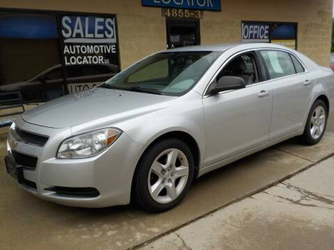 2010 Chevrolet Malibu for sale at Automotive Locator- Auto Sales in Groveport OH